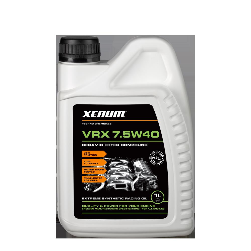 Xenum VRX 7.5W40 1L bottle