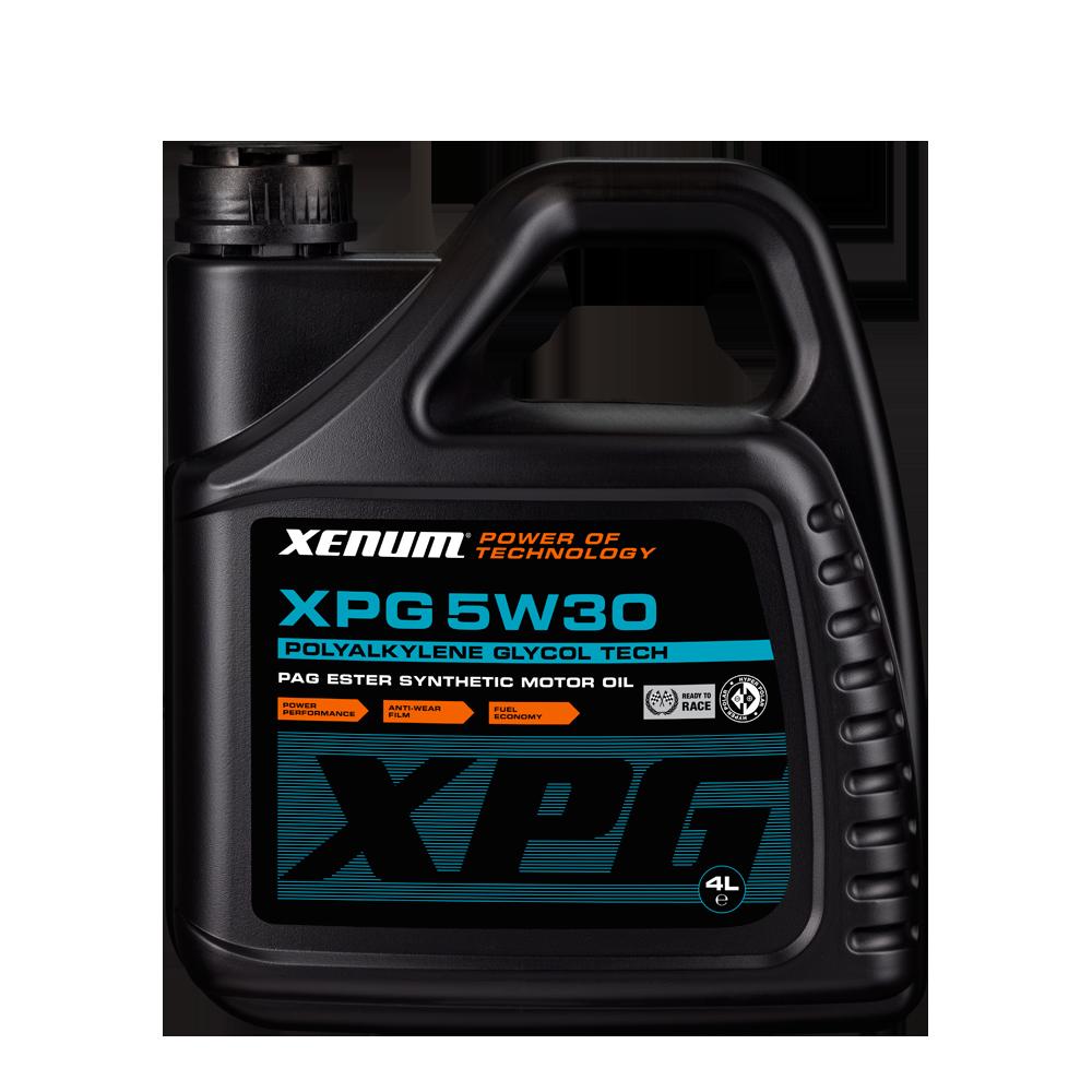 Xenum XPG 5W30 4L bottle
