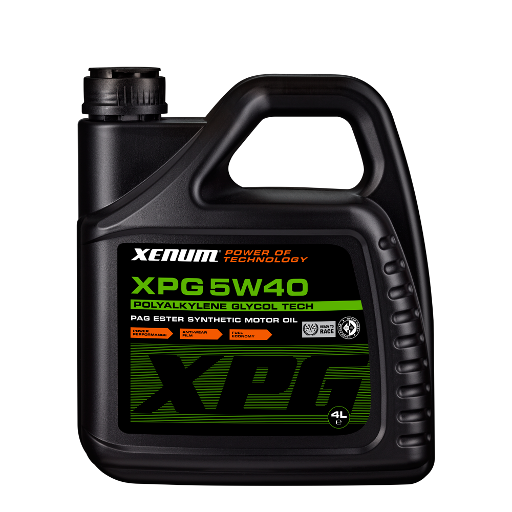 Xenum XPG 5W40 4L bottle